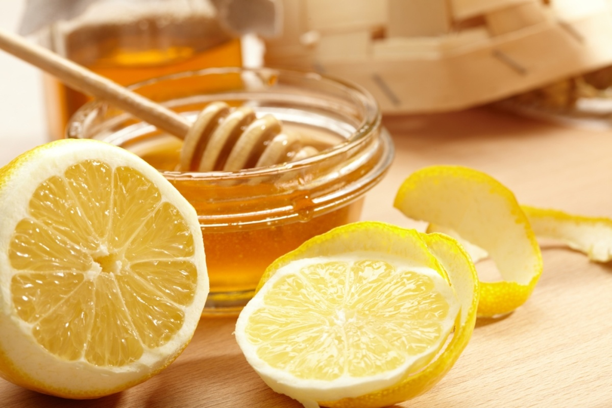 Image result for water with lemon and honey