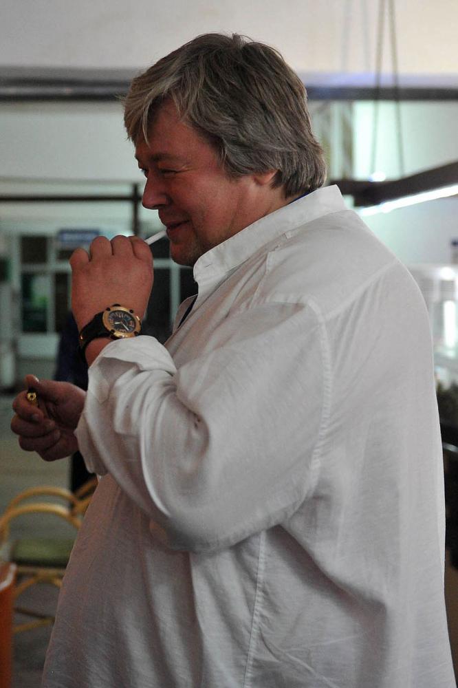 Александр Стриженов до диеты. Фото: Владимир ВЕЛЕНГУРИН
