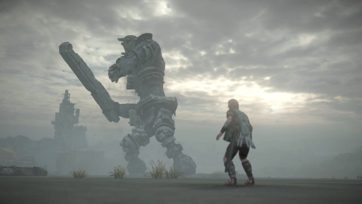 """3. """"Shadow of the Colossus"""""""