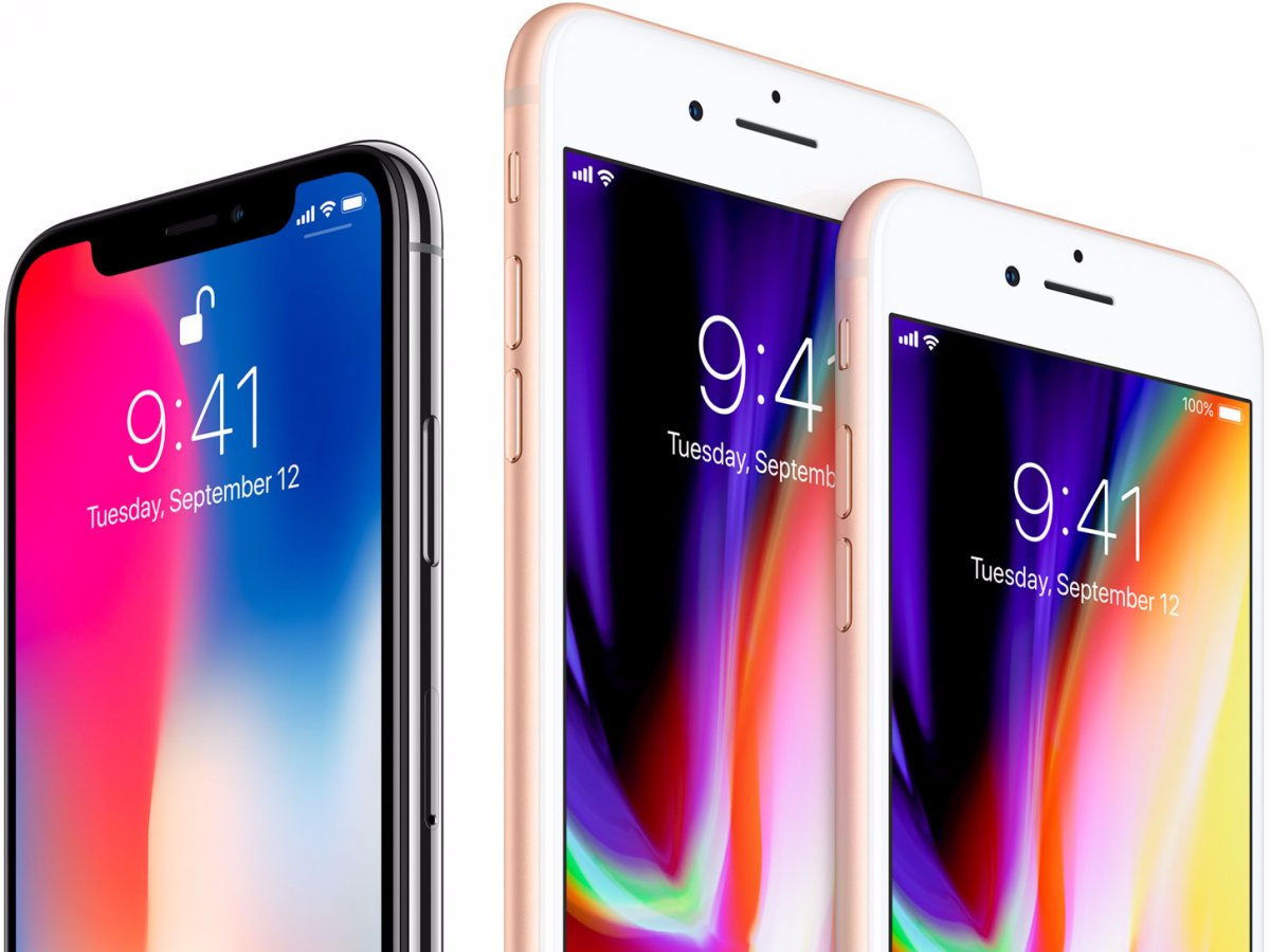1. The iPhone X is more expensive than the iPhone 8.