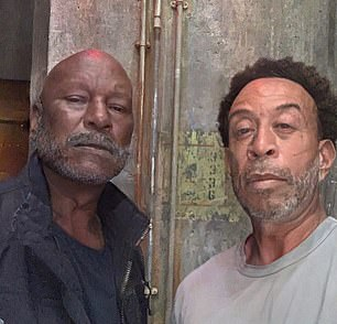 Going forever! Ludacris (right) joked that he and Tyrese (left) will look like this in Fast & Furious 50